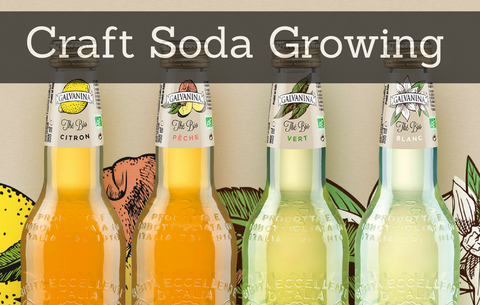 Craft soda bubbling up interest for ailing soda industry