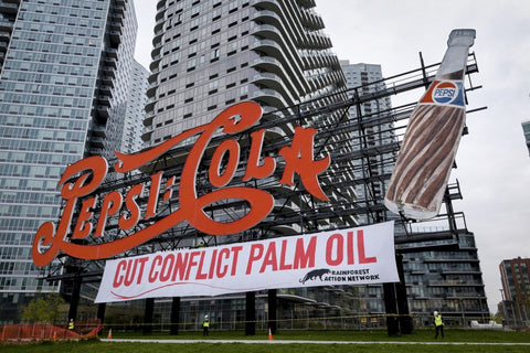 Pepsi Destroys Rain Forests
