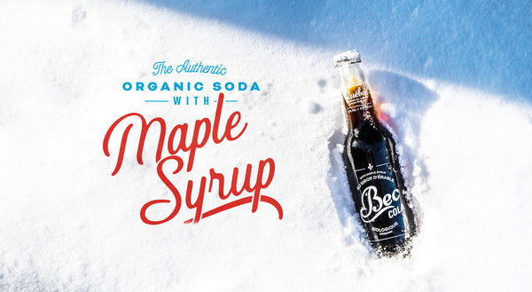 Bec Organic Cola is available at Organic Soda Pops