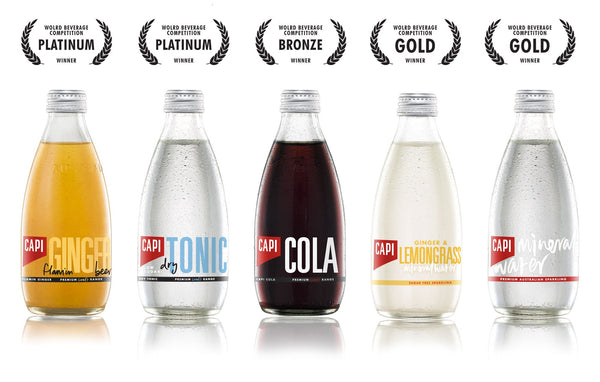 Capi Cola is an all natural cola
