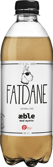 FATDANE Apple & Mint available at OrganicSodaPops.com