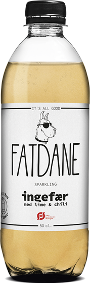 FATDANE Ginger with Lime and Chili available at OrganicSodaPops.com
