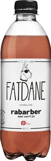 FATDANE Rhubarb with Vanilla available at OrganicSodaPops.com