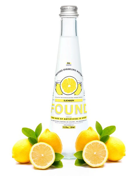 Found Natural Sparkling Beverage available at Organic Soda Pops