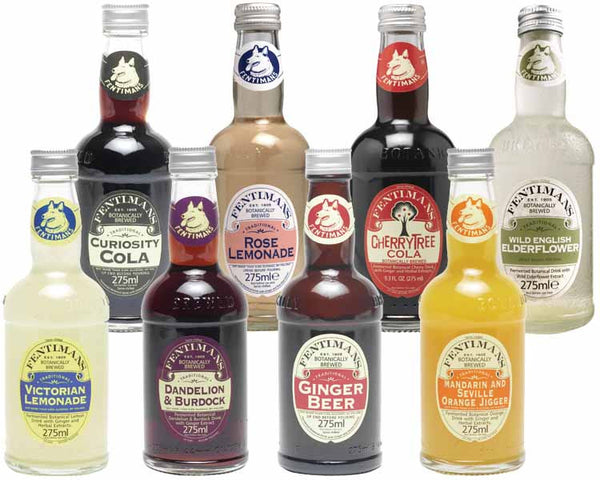 Fentimans Botanically Brewed Beverages Available at organicsodapops.com