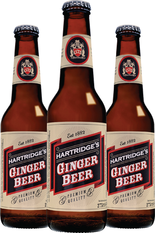 Hartridges All Natural Ginger Beer available at Organic Soda Pops