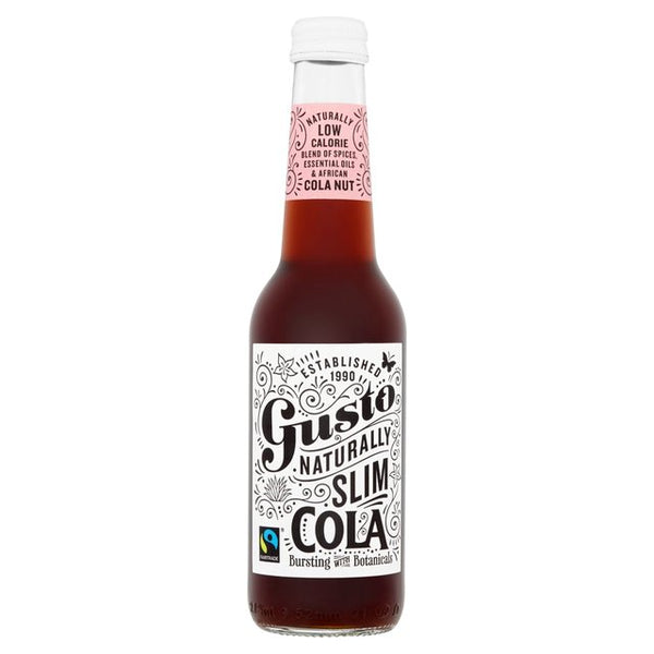 Gusto Fair Trade All Natural Cola