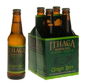 Ithaca Soda Co Natural Ginger Beer