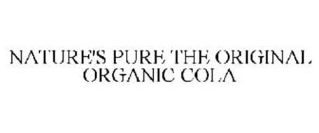 Natures Pure Organic Cola available at organicsodapops.com