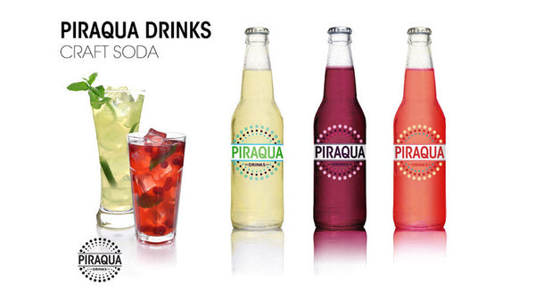 Piraqua Drinks Natural Craft Soda
