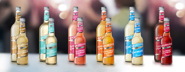 Rochester premium natural soft drinks available at Organic Soda Pops
