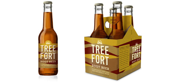 Tree Fort Natural Root Beer available at Organic Soda Pops