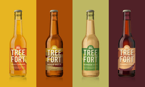 Tree Fort Natural Soda available at Organic Soda Pops