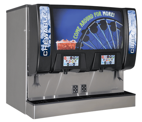 Twin Pour Ice Beverage Fountain Soda Machine
