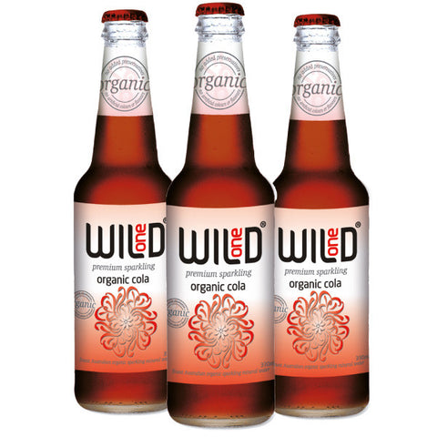 Wild One Organic Cola available at Organic Soda Pops