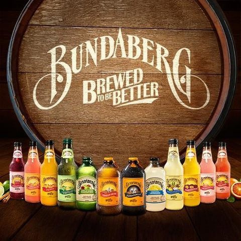 Bundaberg Brewed Drinks available at Organic Soda Pops
