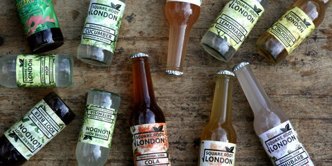 Square Root Soda Works available at Organic Soda Pops