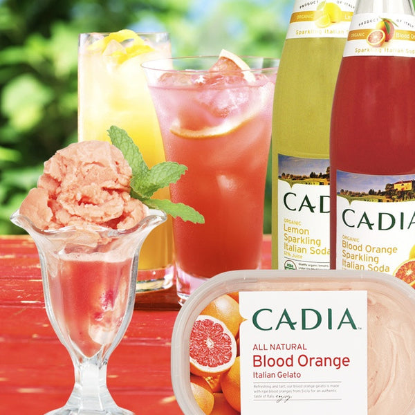 Cadia Organic Soda available at Organic Soda Pops