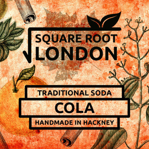 Square Root Organic Cola available at Organic Soda Pops