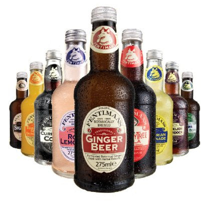 Fentimans Natural Ginger Beer available at organicsodapops.com