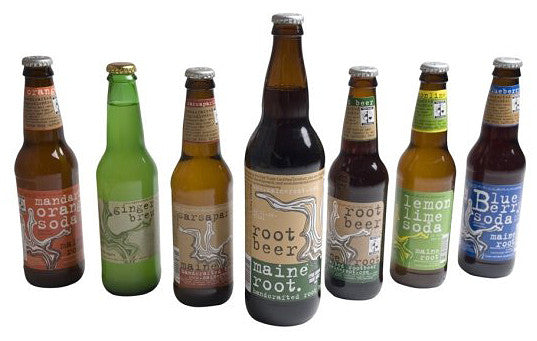 Maine Root handcrafted beverages