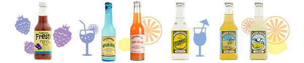 NaturFrisk Organic Soft Drinks available at Organic Soda Pops