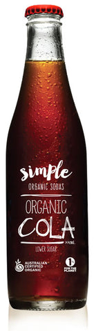 Simple Organic Cola is available at Organic Soda Pops