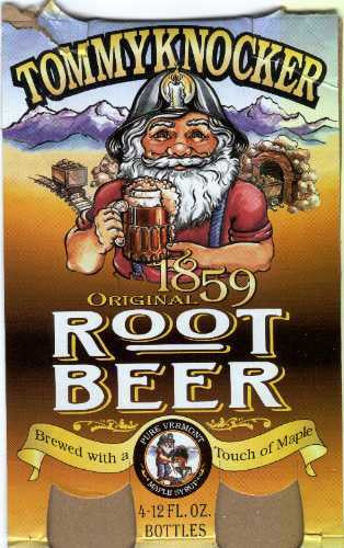 TommyKnocker All Natural Craft Root Beer