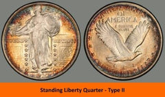 Standing Liberty Quarter - type 11