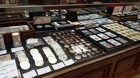What we buy and sell at London Coin Galleries