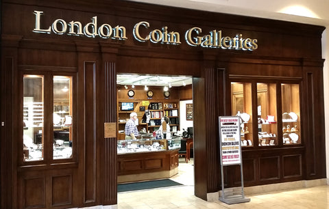 About London Coin Galleries in Mission Viejo