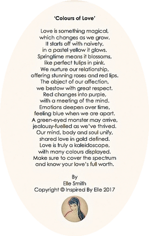 Image Original Poem Colours of Love Inspired By Elle Smith Poet