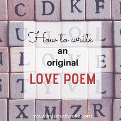 Elle Blog How to write an original love poem by Elle Smith