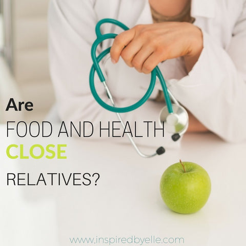 Blog Article Are Food and Health Close Relatives by Elle Smith Inspired By Elle Creative Blog Article