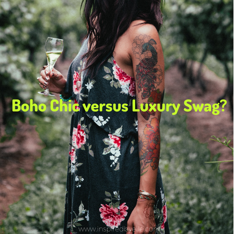 Boho Chic versus Luxury Swag Elle Smith Inspired By Elle