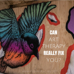 Blog Article - Can art therapy really fix you - Inspired By Elle
