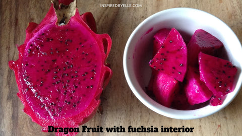 Dragon Fruit with Fuchsia Interior Elle Blog