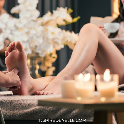 Luxury Foot Massage with Essential Oils by Elle Smith