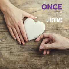 Contemporary Romantic Love Poem Once in a Lifetime by Elle Smith