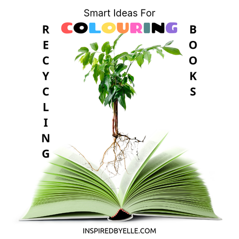 Elle Blog Smart Ideas For Recycling Colouring Books by Elle Smith