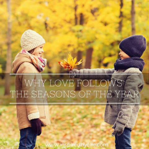 Blog Article Why Love Follows the Seasons of the Year by Elle Smith Inspired By Elle