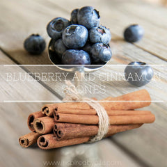 Recipe - Blueberry and Cinnamon Scones - Inspired By Elle