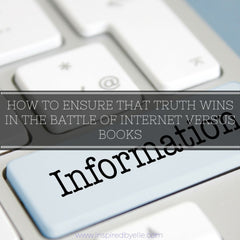 How to ensure truth wins in battle of Internet versus Books by Elle Smith