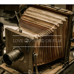 Original Contemporary Poem Love Captured on Film by Elle Smith UK