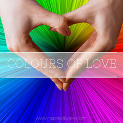 Original Poem Colours of Love Contemporary Poetry Inspired By Elle Smith