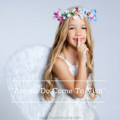 Original poem about angels and death Angels Do Come to Visit by Elle Smith