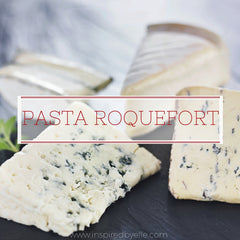 Pasta Roquefort unique recipe by Elle Smith Creativity in the Kitchen Inspired By Elle