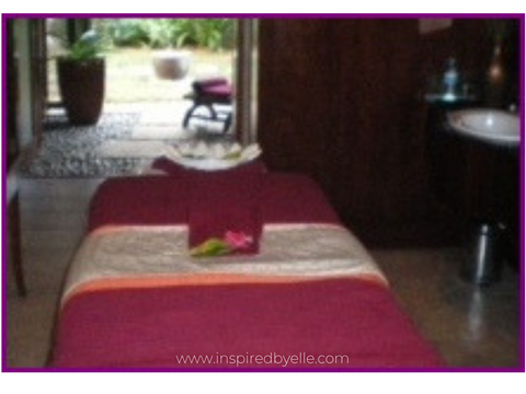 Spa at Meridien Ile Maurice Hotel in Mauritius by Elle Smith