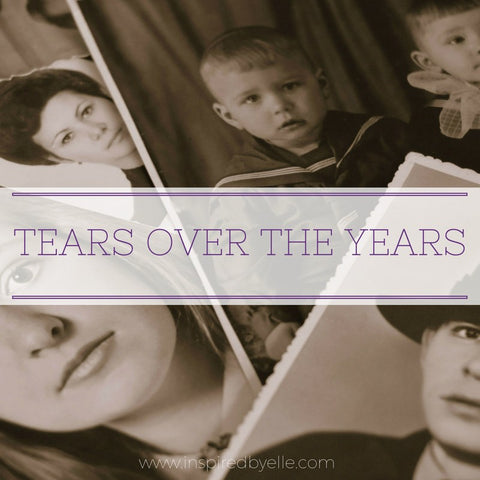 Original Contemporary Poem Tears Over The Years by Elle Smith Inspired By Elle