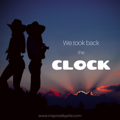 We Took Back The Clock an original poem by Elle Smith